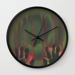 My Hands Wall Clock
