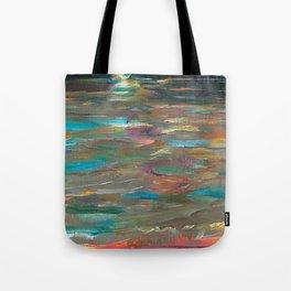 Ocean Currents at Twilight by Hubertine Heijermans Tote Bag