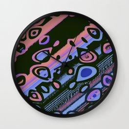 Rosey Serenity Wall Clock