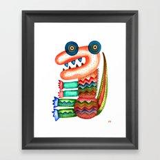 Tyrannosaurus Framed Art Print