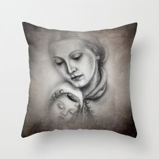 more than 100 years ago -2- Throw Pillow
