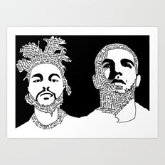 Weekend Drake Art Print