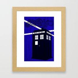 Doctor Wood Framed Art Print
