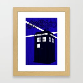 Doctor Wood Framed Art Print
