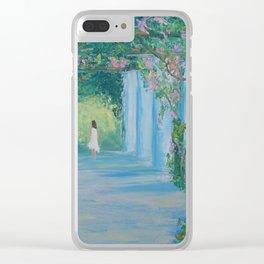 Mediterranean motif Clear iPhone Case