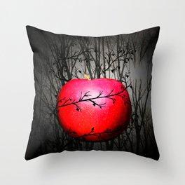 A Darker Time Throw Pillow