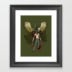 Bear Acolyte Framed Art Print