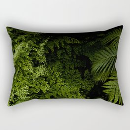 Tropical jungle. Rectangular Pillow