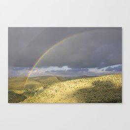 """If you want the RAINBOW you've got to deal with the rain"" Canvas Print"