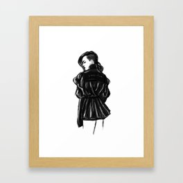 Grrrl Framed Art Print