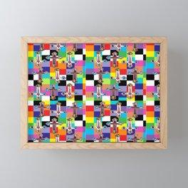 Jesus is The New Pattern 2 Framed Mini Art Print