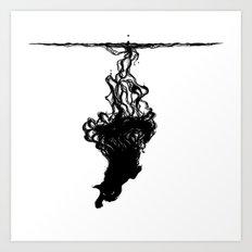 Inkcat3 Art Print