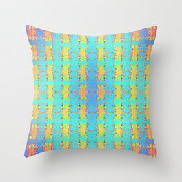 0607 Pattern by sauces ... Throw Pillow