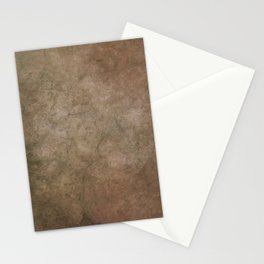 Old brown cracked background Stationery Cards