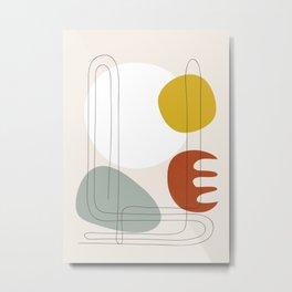 Abstract Geometry 41 Metal Print
