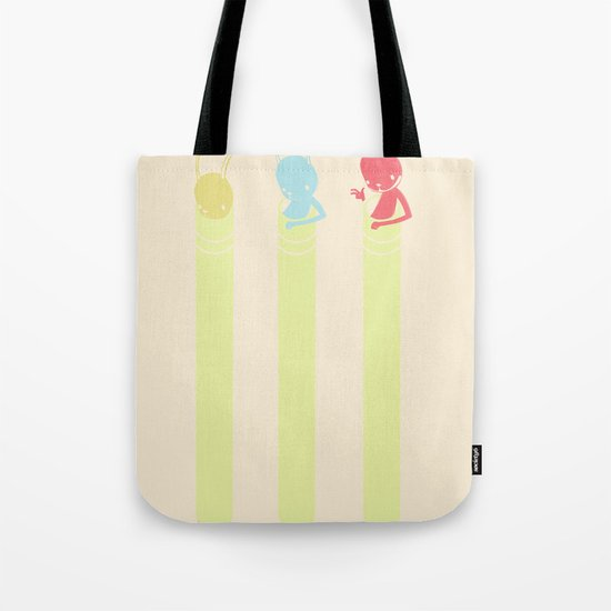 INK BUNNY & ROLL Tote Bag