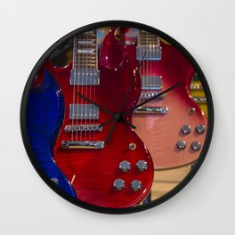 Gibson Rainbow Row Wall Clock