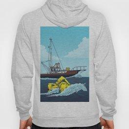 Jaws: Orca Illustration Hoodie