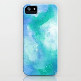 Wintergreen Galaxy iPhone Case