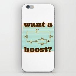 Want a boost iPhone Skin