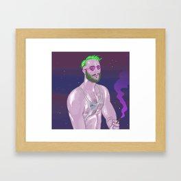 Jonny Confesses Framed Art Print