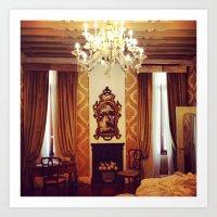 Venice Hotel Art Print