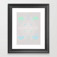 Geometrics Framed Art Print