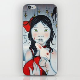 Little Girl Blue iPhone Skin