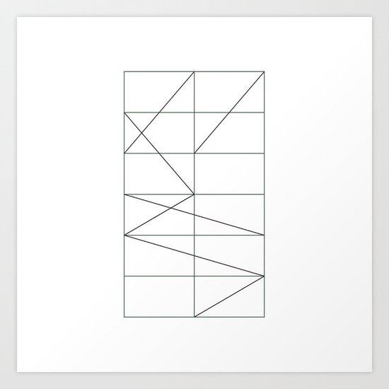 #180 Feng shui – Geometry Daily Art Print