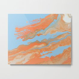 Desert drifting Metal Print
