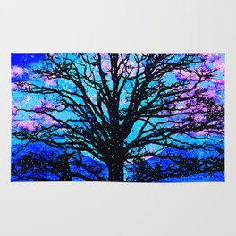 TREES AND STARS Rug