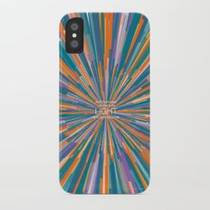 LIGHT iPhone X Slim Case