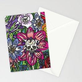 """""""Skull Garden III"""" by Schmiedlin 2013 Stationery Cards"""