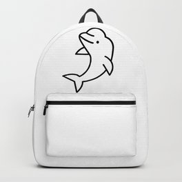 Beluga Whale Backpack