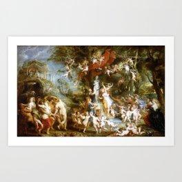 Peter Paul Rubens The Feast of Venus Art Print