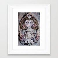 kittens Framed Art Prints featuring Kittens by Medusa Rose