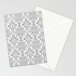 Dull and Grey  Stationery Cards