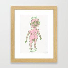 Awkward Humans 2 Framed Art Print