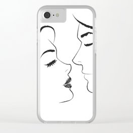 Romantics Clear iPhone Case