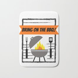 Grillmaster Bring on the BBQ! Grilling Bath Mat