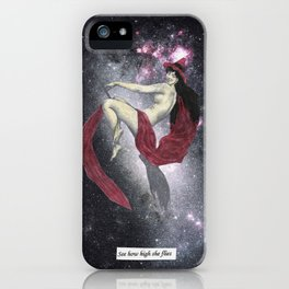 Witchy Woman Collage iPhone Case