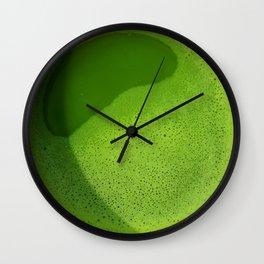 Matcha Tea in Arashiyama Wall Clock