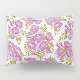 Jacaranda Flowers Pillow Sham