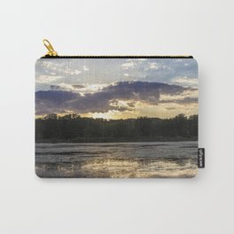 Sunset on Mississippi River Carry-All Pouch