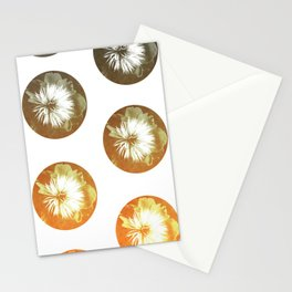 rusty circles Stationery Cards