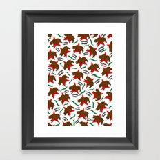 California Pattern Framed Art Print