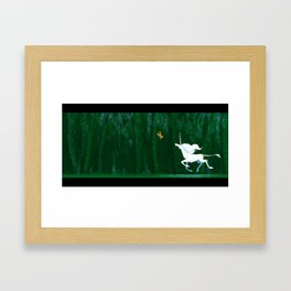 Unicorn Fields  Framed Art Print