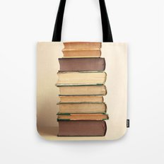Reading Pile Tote Bag