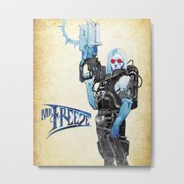 Freeze Metal Print