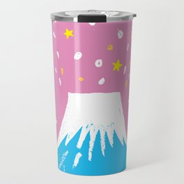 "Symbol of happiness ""Mount Fuji"" Japan Travel Mug"